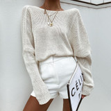 Slouchy Sweater Tan