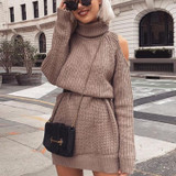 Sneak Peek Sweater Dress
