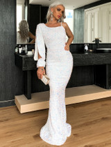 Jana Sequin Gown