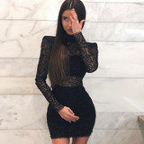 Lacy Swirl Dress
