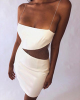 Siding With It Dress - White