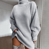 Grey Kayla Sweater Dress