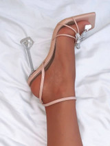 Bow Sandal Pump