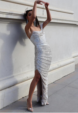 Briana Sequin Dress