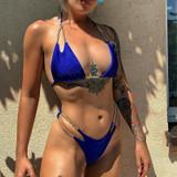 Chain Bikini Blue