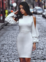 White Tania Dress