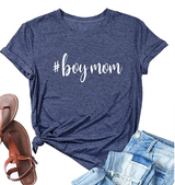 Boy Mom T Shirt