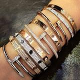 Love and Nail Set Bracelet