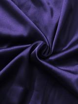 Purple Drape Panel Dress