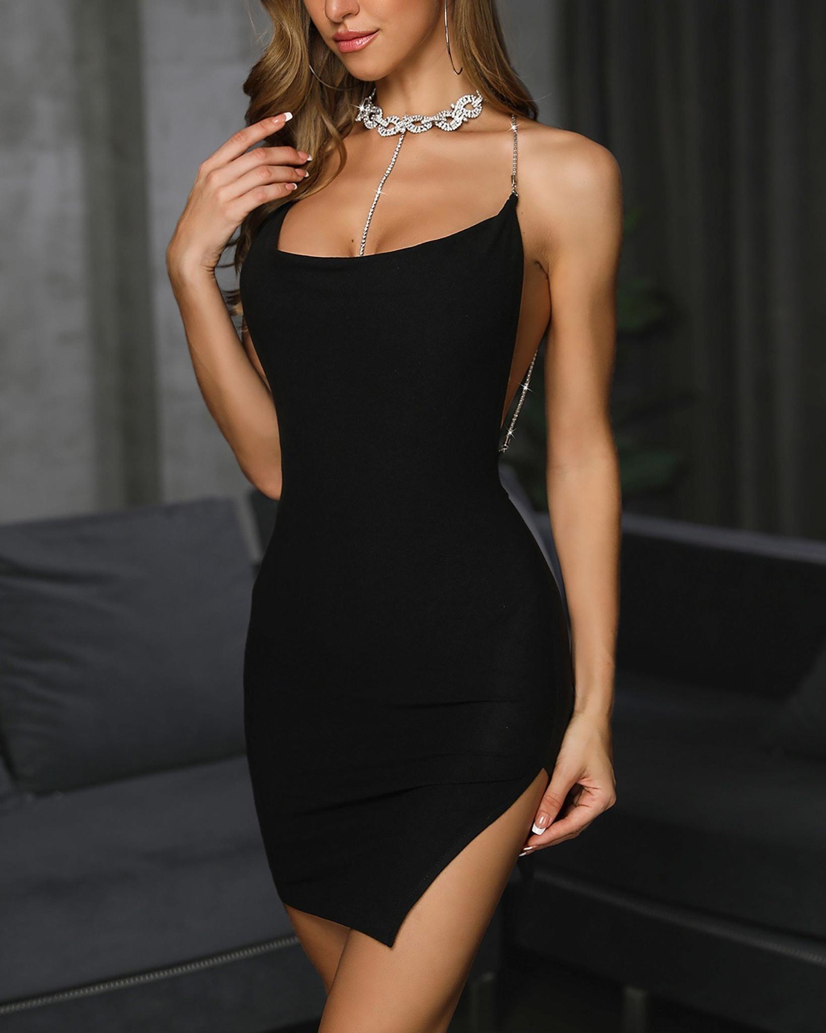 Black Meli Dress