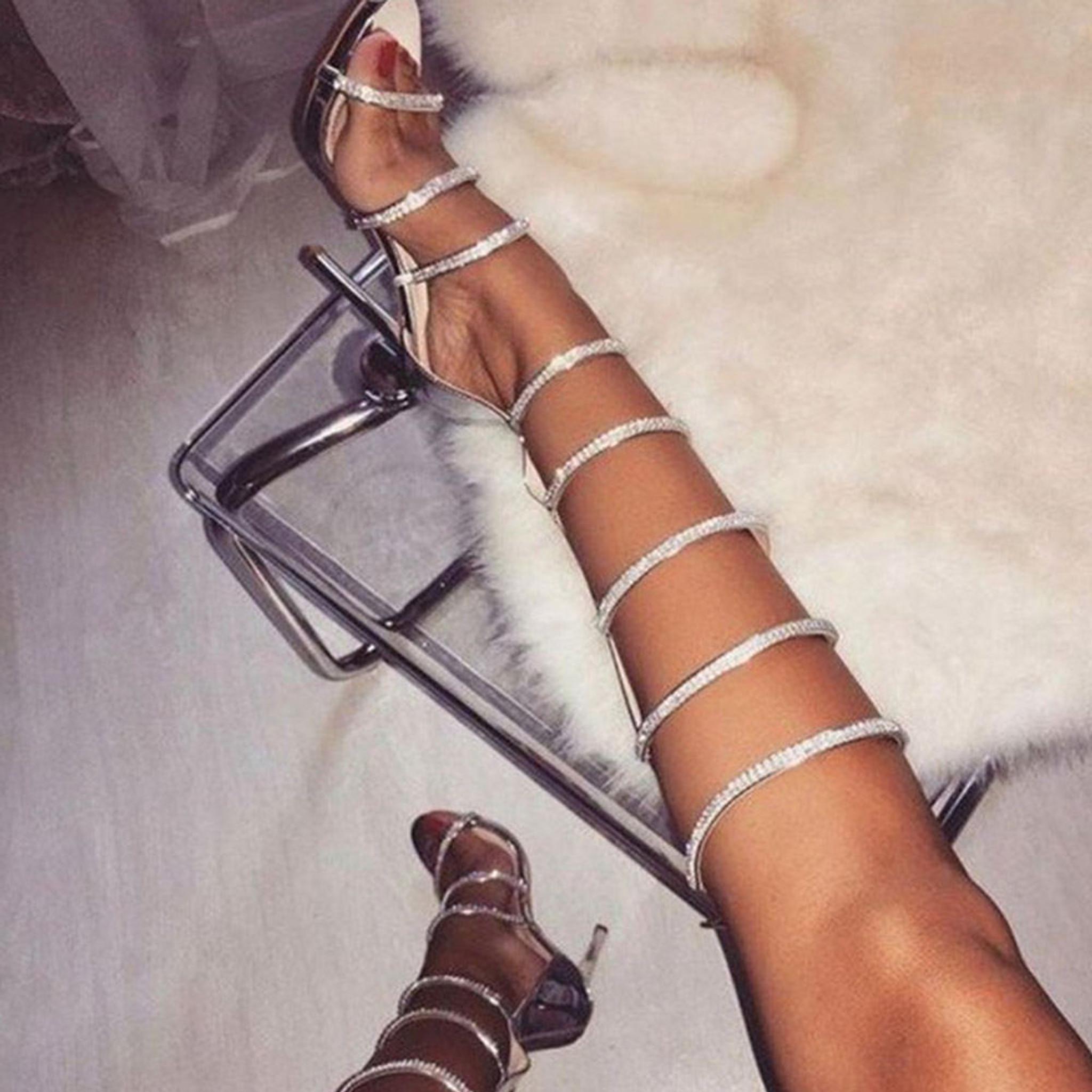 Spiral Diamond Shoe