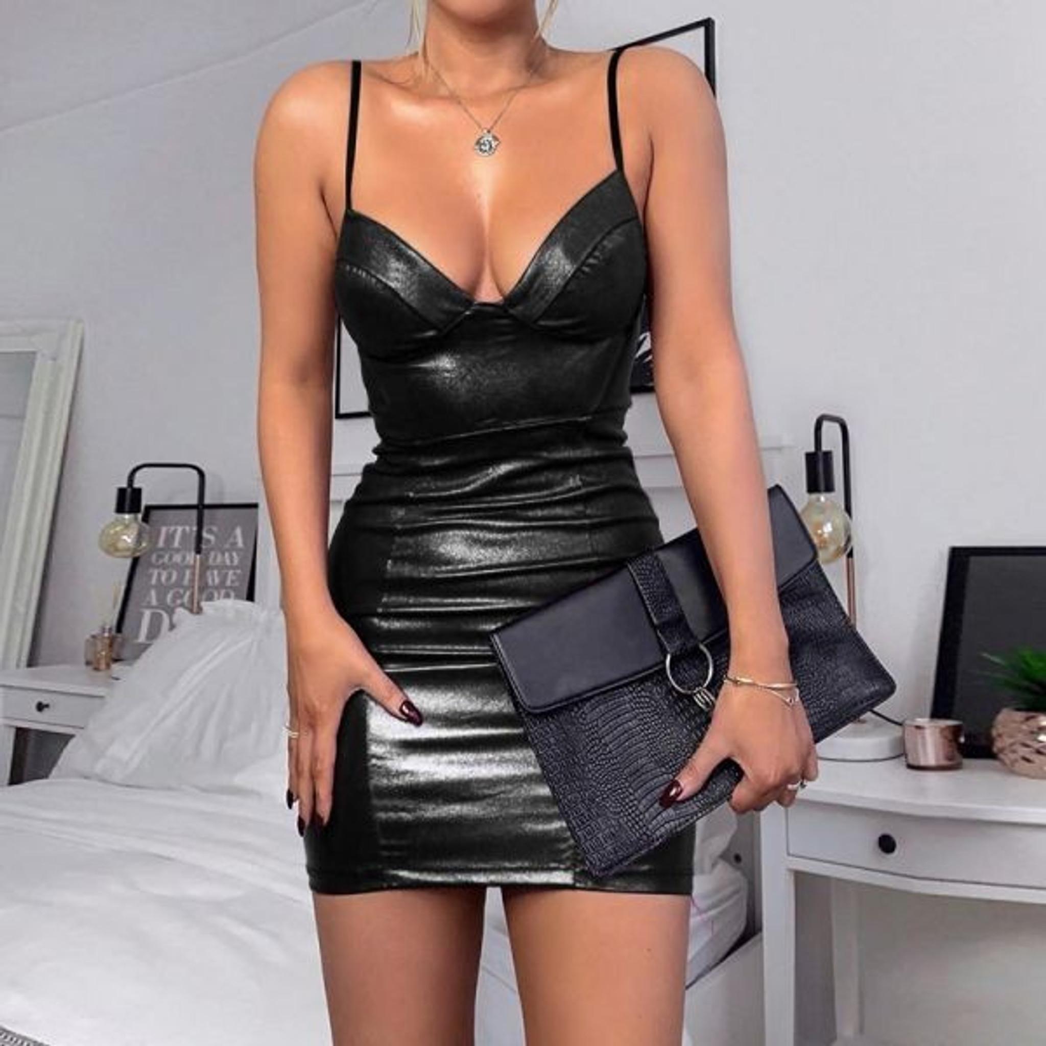 Black Leather LBD