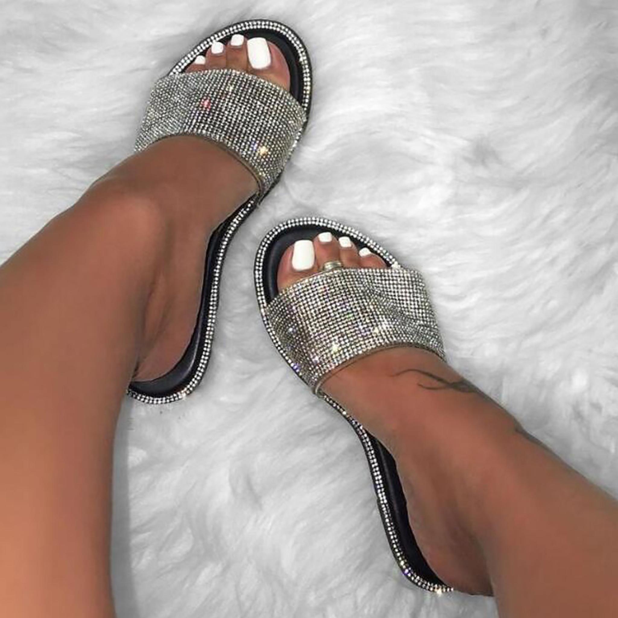Bling Slip Sandal