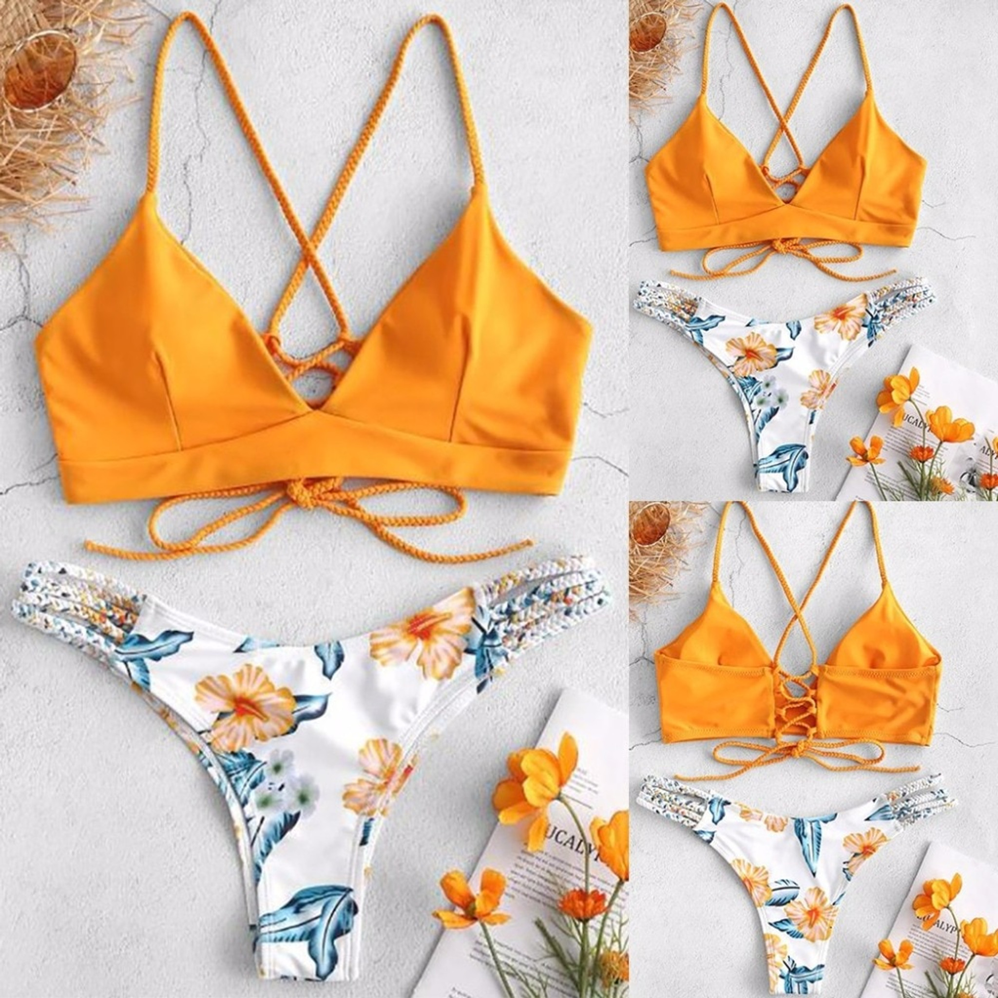 Braided Twist Bikini