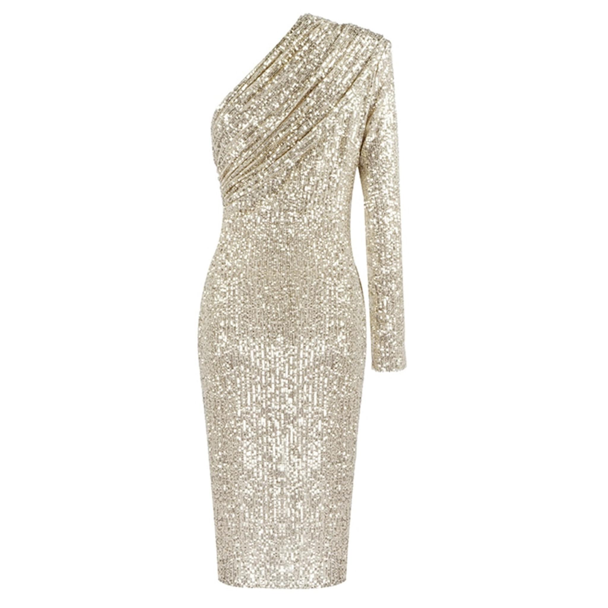Silver Dash Dress