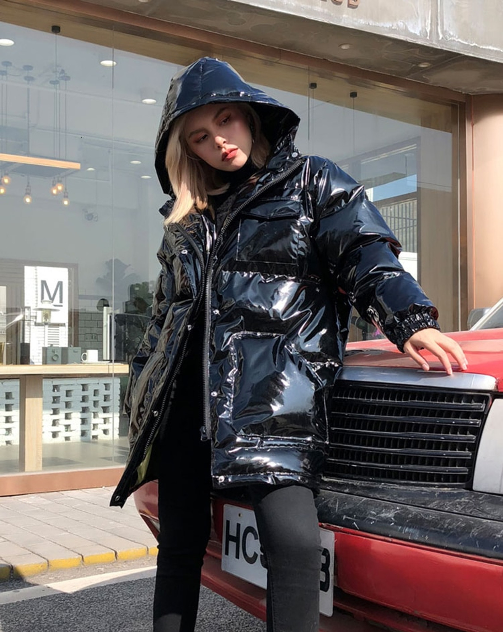Jet Black Coat