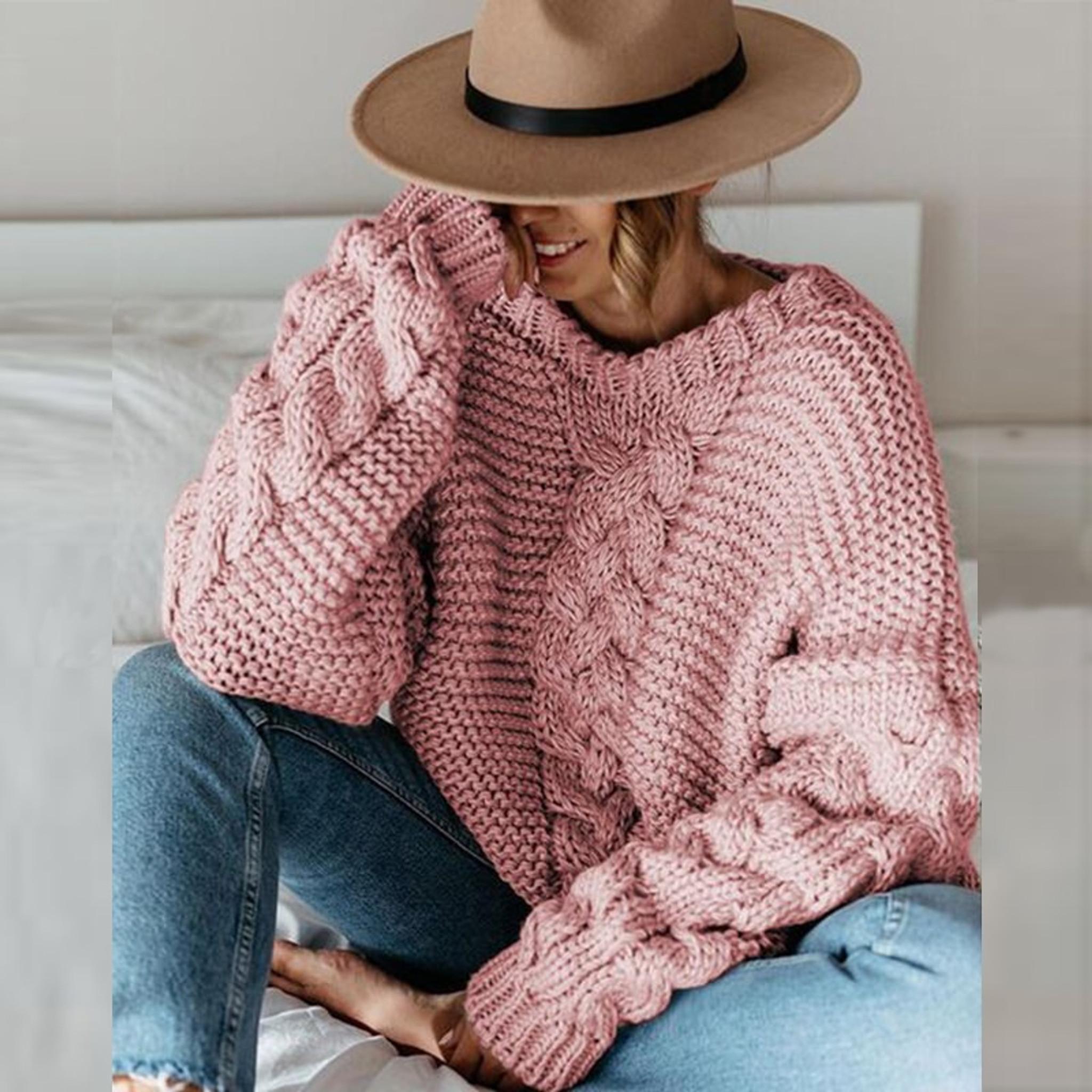 Daria Chunk Knit Sweater
