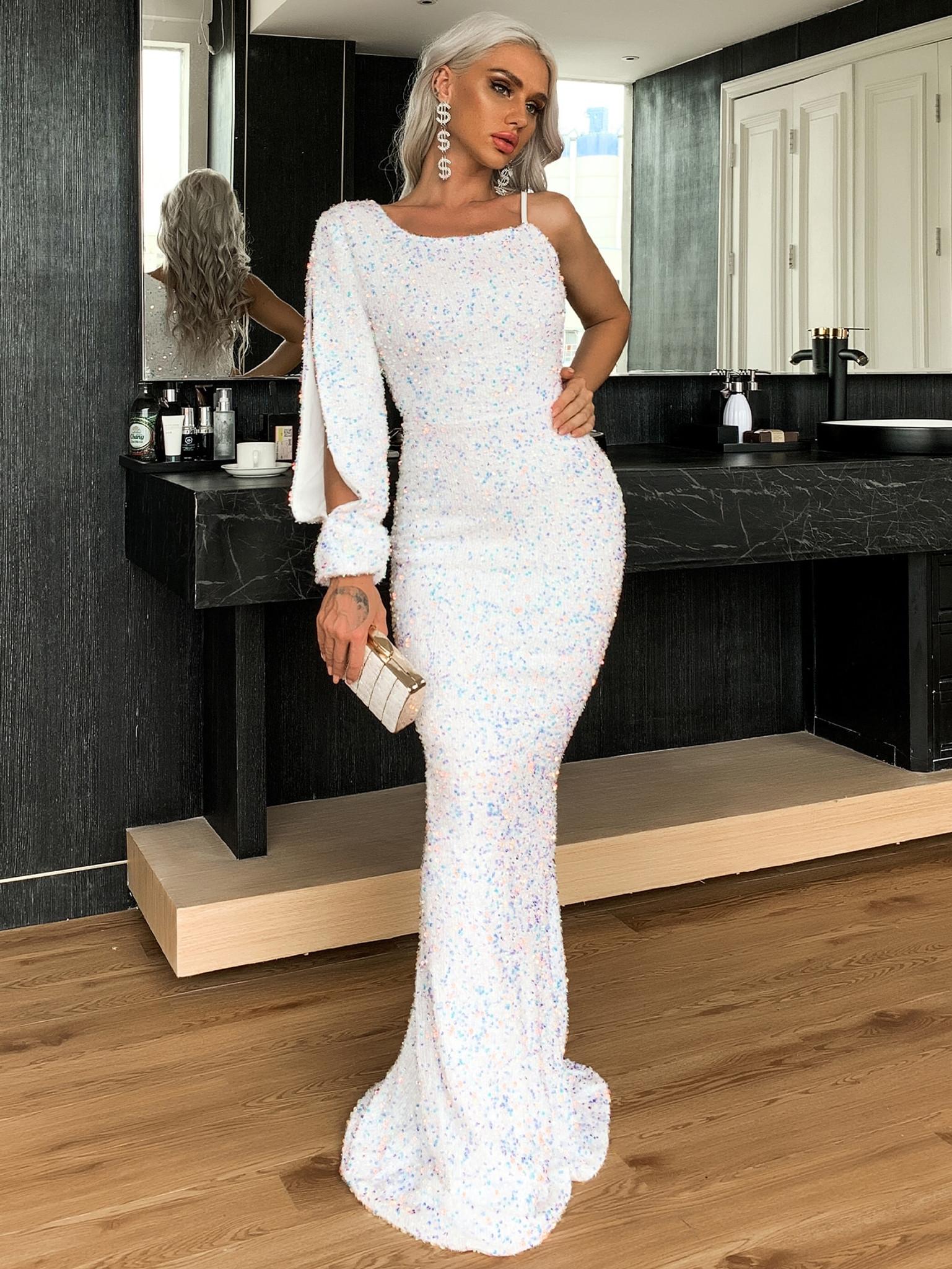 Jana Sequin Gown