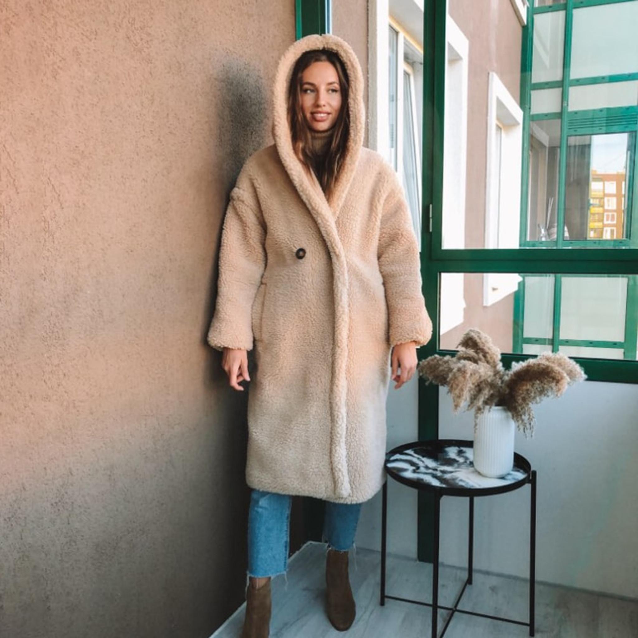 Hooded Teddy Coat