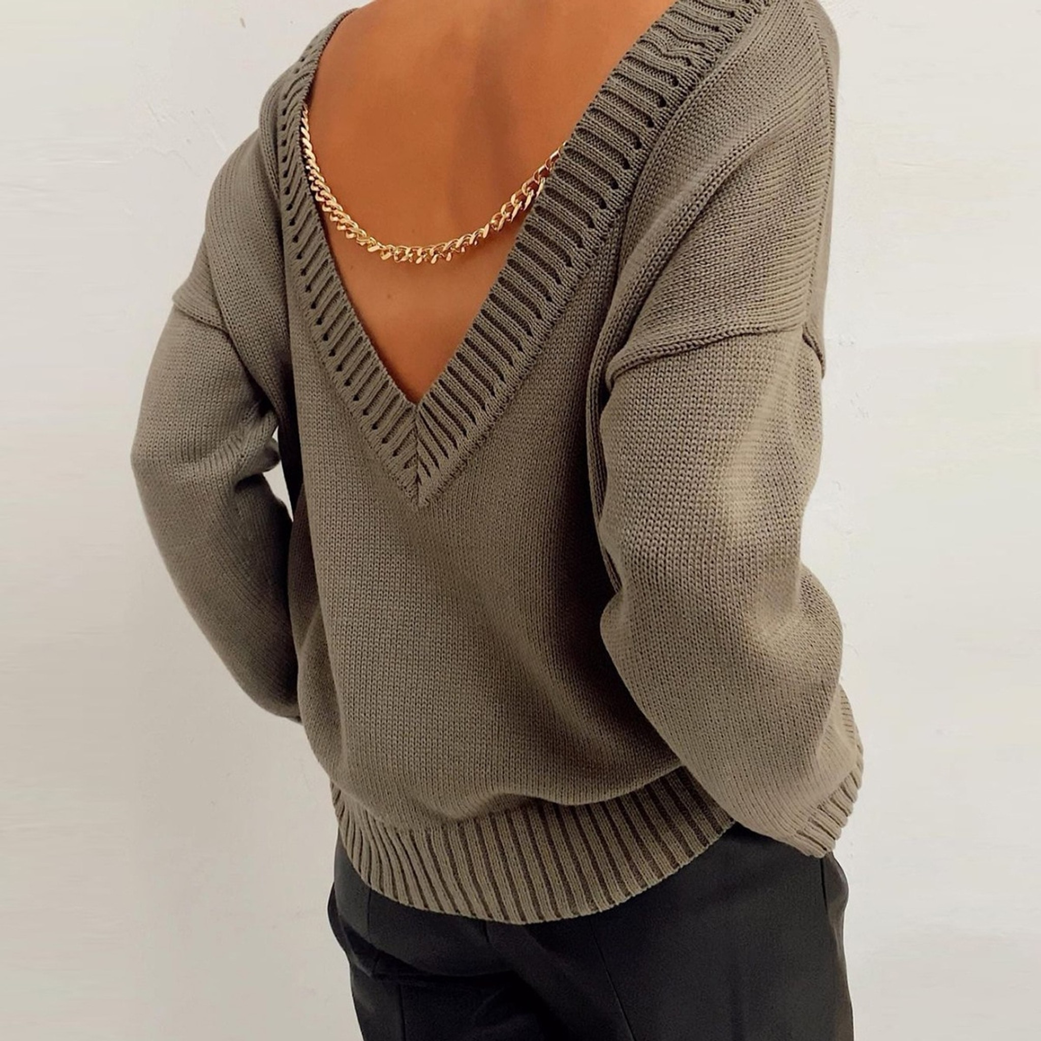 Chained Up Sweater