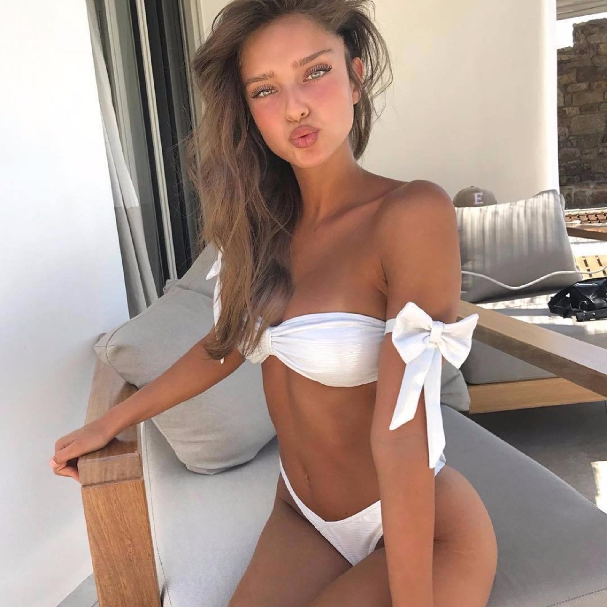 Shoulder Bow Bikini