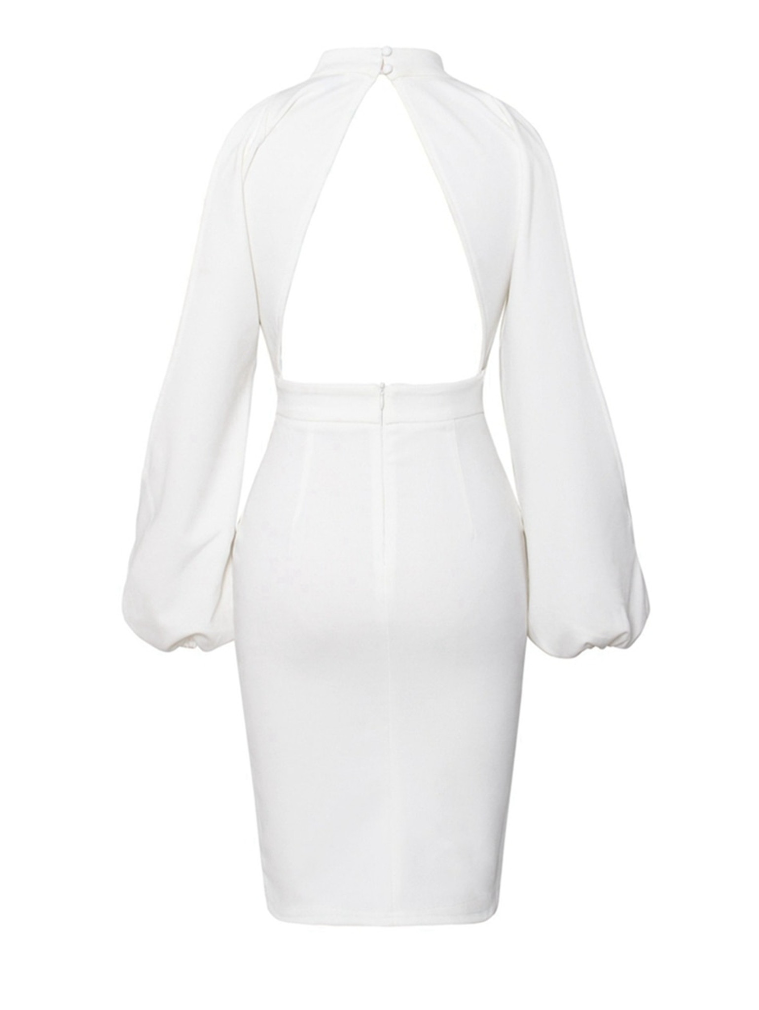 White Tania Dress