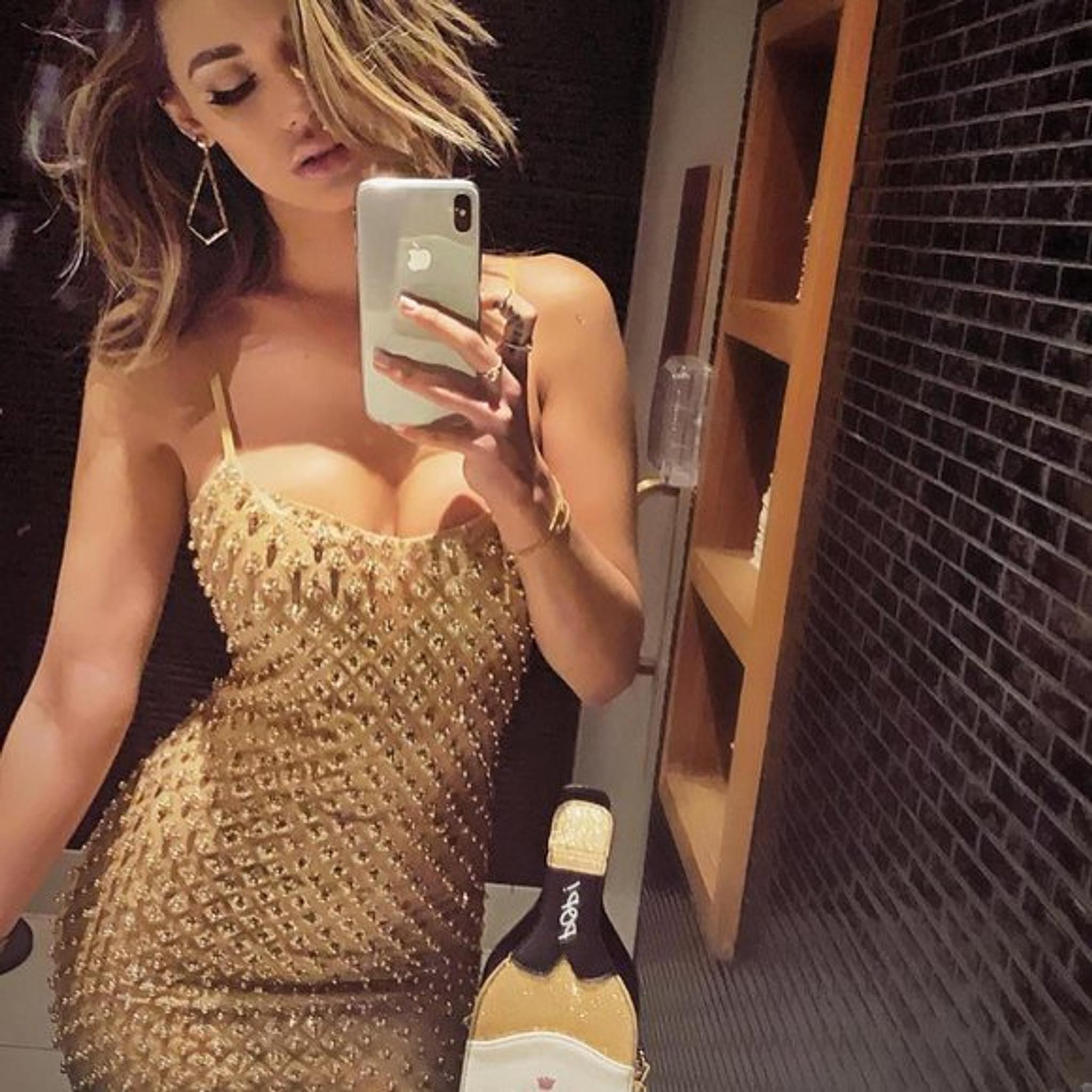 Neri Gold Dress