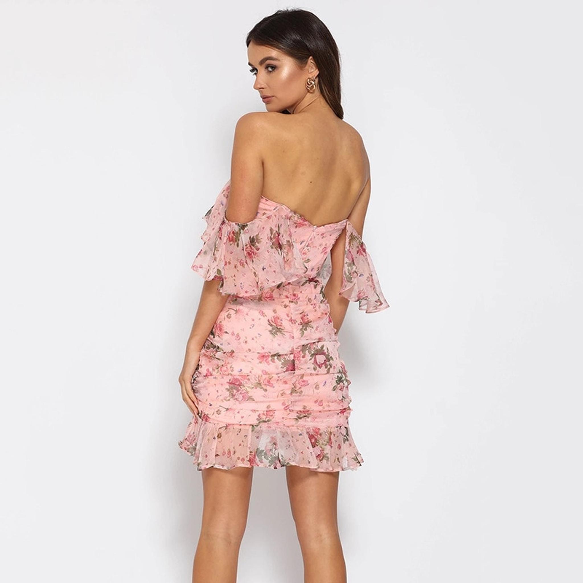 Olena Boho Floral Dress