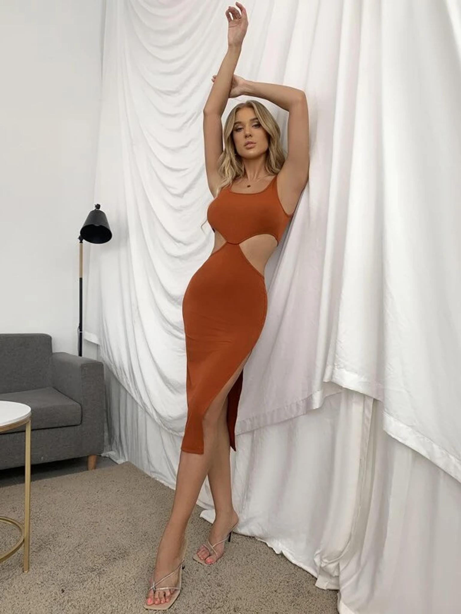 Sienna Cut Out Tank Dress