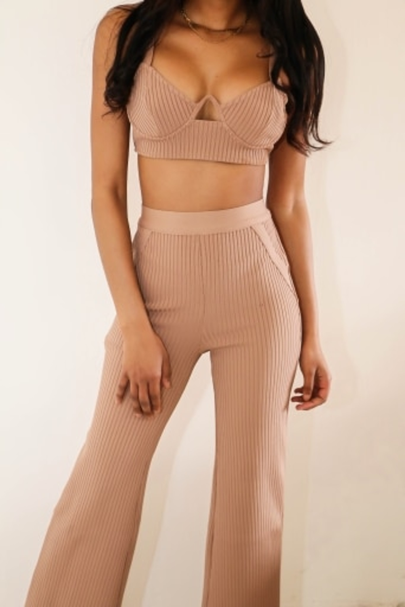 Ribbed Sexy 2 piece
