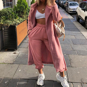 Stay Home Joggers - Pink