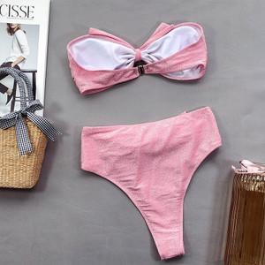 Pink Bow Bikini