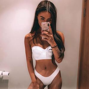 White K Bikini