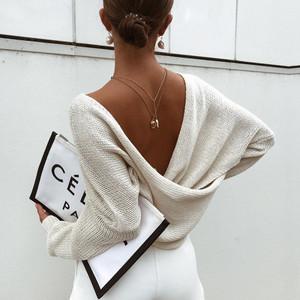 Slouchy Sweater Tan