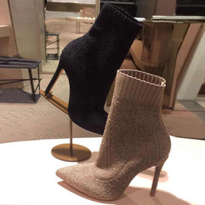 Knit Ankle Bootie