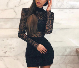 Lacy Swirl Dress