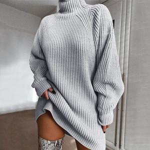 Grey Kayla Sweater Dress