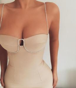 Peek A Diamond Dress