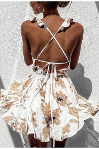 Doilies Floral Dress