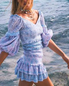 Lavender Boho Dress