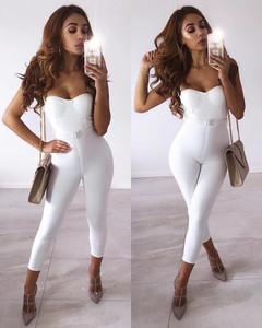 Blanca Bandage Jumpsuit