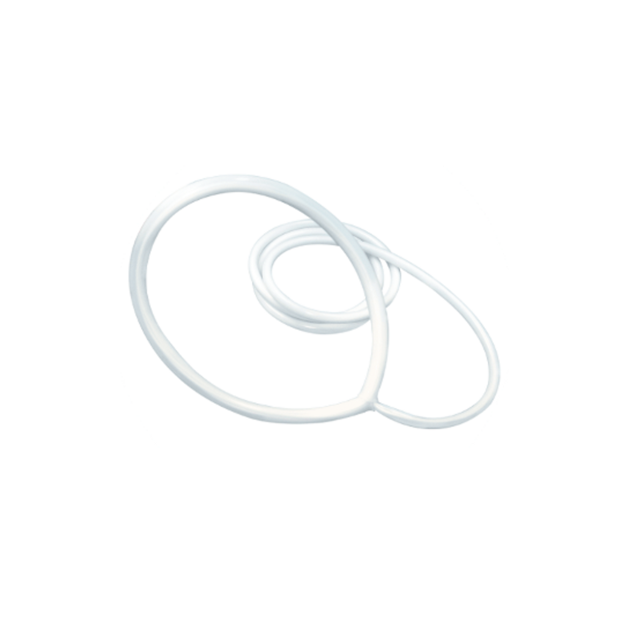The large round loop is for treating more area on the body. The Large Loop comes with a 12′ lead.
