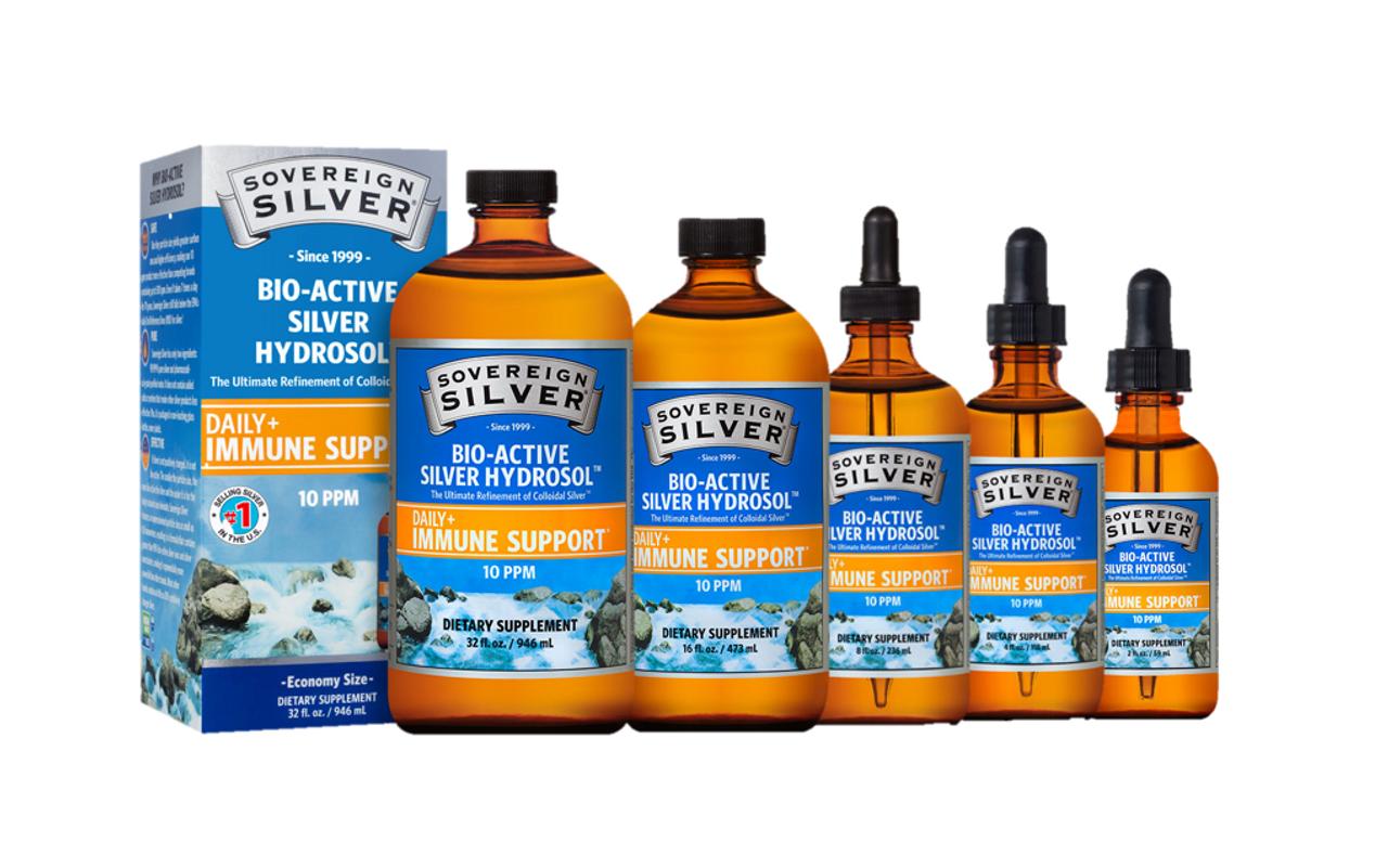 Bio-Active Silver Hydrosol