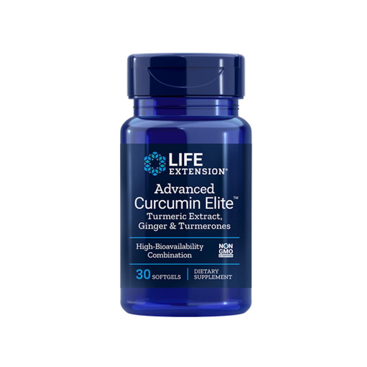 Advanced Curcumin Elite™ Turmeric Extract, Ginger & Turmerones-2324