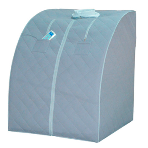 The Synergy Sauna™ portable full spectrum (near and far) infrared sauna provides deep penetrating and detoxifying therapeutic heat through the use of infrared rays. Furthermore, enjoy free shipping in the USA!