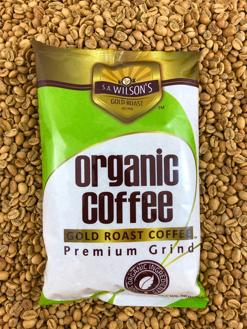 1 POUND GOLD ROAST COFFEE CERTIFIED ORGANIC