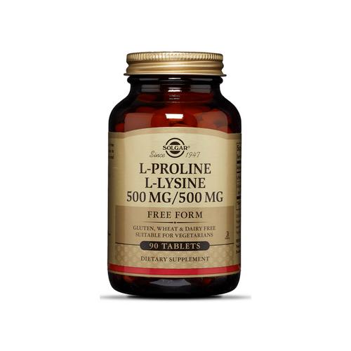 L-Proline L-Lysine 500 mg - 90 Tablets