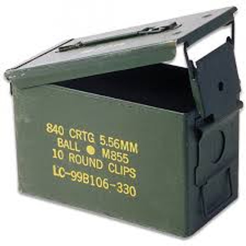 50 cal personal sized ammo can