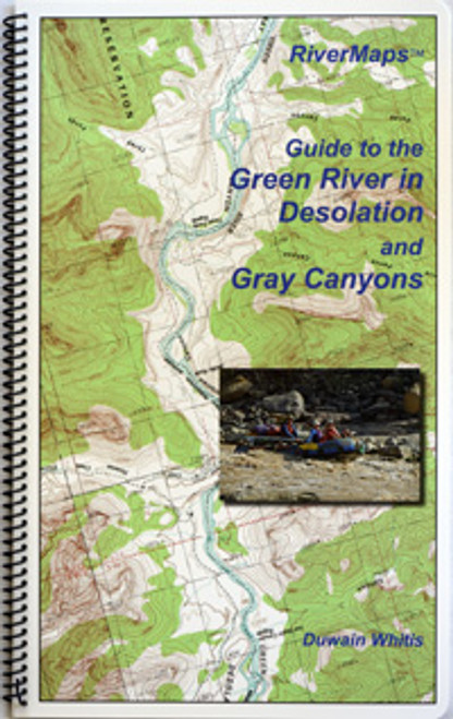 Green River in Desolation and Grey Canyons Map