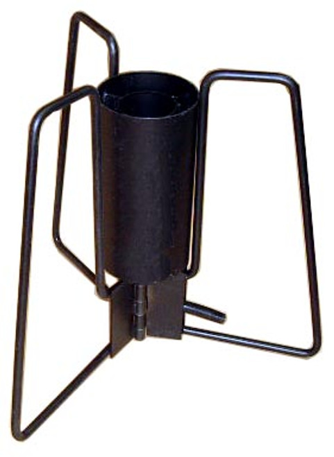 """This item is called a """"Blaster"""". It is used to heat large volumes of water very quickly. The legs fold and is a simple device, making maintenance easy."""